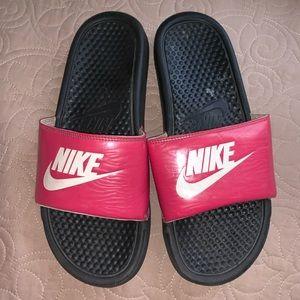 Women's Nike Slides Hot Pink